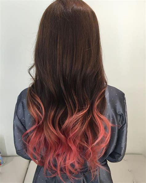 Pinkpeach Ombre Hair Hair Pinterest Ombre Ps And Hair