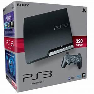 Ps3  Sony Playstation 3 Slim Console  320 Gb  Games
