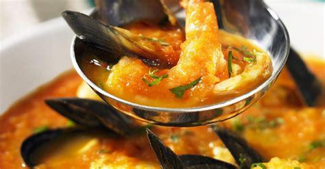 french fish soup bouillabaisse recipe eatsmarter