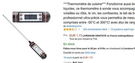 bon plan cuisine pas cher un thermomètre de cuisine à écran lcd à moins de 2 euros