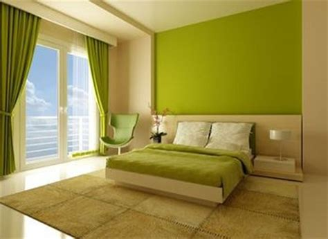 Green Bedrooms : Modern Ideas About The Green Bedroom Design