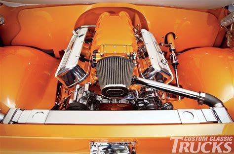 orange pearl chevrolet  truck   true classic