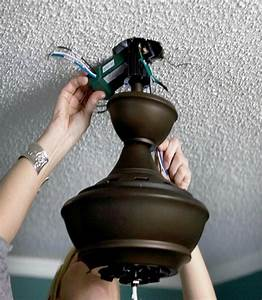 Easy Way To Install A Ceiling Fan  Ceiling Fan Connection