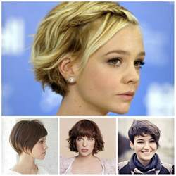 2017 Short Hairstyles for Teenage Girls