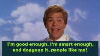 I Am Smart Meme - daily affirmations stuart smalley quotes quotesgram
