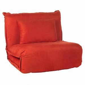 Fauteuil Convertible 1 Place Alinea : fauteuil convertible rouge rouge dodo fauteuils fauteuils et poufs salon et salle ~ Teatrodelosmanantiales.com Idées de Décoration