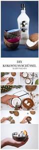 Frühlingsdekoration Selber Machen Anleitung : diy anleitung kokosnussschalen selber machen ~ Orissabook.com Haus und Dekorationen