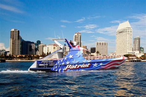 Boat Rides In San Diego by Patriot Jet Boat San Diego Flagship Cruises Events