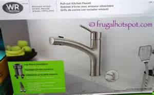 waterridge kitchen faucet costco sale water ridge style pull out kitchen faucet 59 99 frugal hotspot
