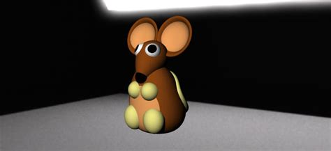 animals  model mouse cgtrader