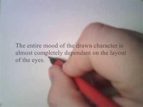 drawing anime eyes sadsurprised youtube