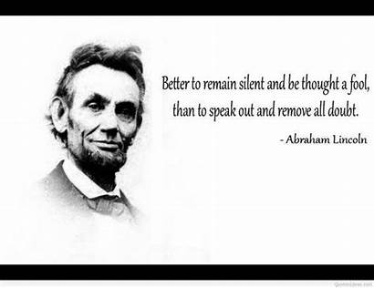 Quotes Meaningful Famous Lincoln Abraham Wise Sayings