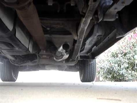 ford ranger  cut  exhaust youtube