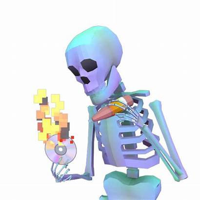 Skeleton Gifs Sauce Sticker Aesthetic Halloween John