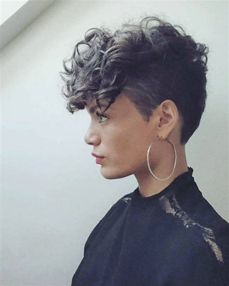 tomboy hairstyles for curly hair easy hair styles ideas
