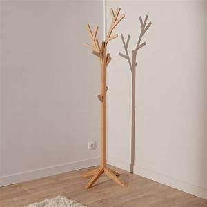 Porte Manteau Sur Pied Bois : porte manteau arbre en bois sur pied essence bois pinterest porte manteau arbre ~ Teatrodelosmanantiales.com Idées de Décoration
