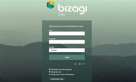 automation server bizagi work portal login   work