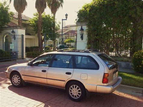 auto air conditioning service 1993 toyota corolla electronic throttle control find used 1993 toyota corolla dx wagon 5 door 1 8l in fremont california united states for us