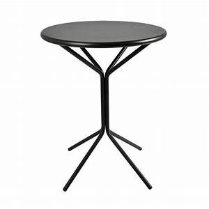 Table Metal Exterieur : rig83 pour bars et restaurants table ronde en m tal ~ Teatrodelosmanantiales.com Idées de Décoration