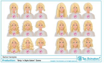 snip n style hair salon two animators animation studio s new hairstyles 8217