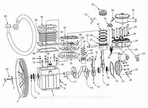 Campbell Hausfeld 3vb59 Parts Diagram For Pump Parts
