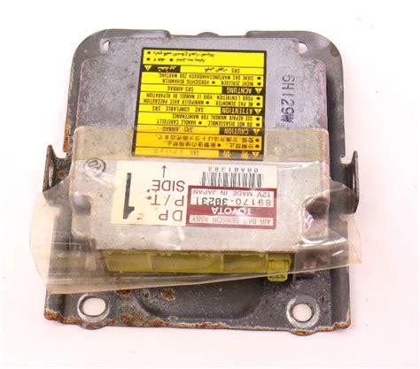 air bag module computer   lexus gs jz genuine