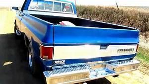 76 Chevy C10 Silverado Walk Around  Startup