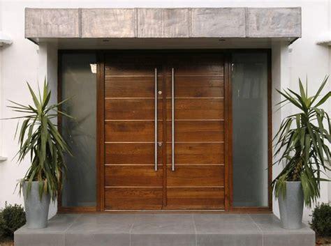 modern front door wide entrance  home ideas
