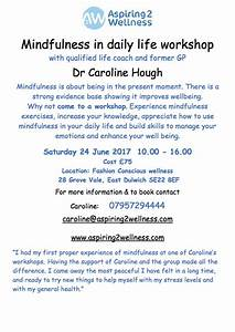Mindfulness in daily life workshop - SE5Forum