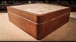 Ipe Wood  U0026 Leather Box