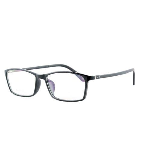 Specs-N-Lenses Black Rectangle Spectacle Frame TR218 - Buy ...