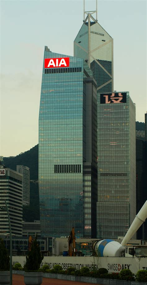 aia central  skyscraper center