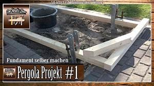 Garten Pergola Selber Bauen : garten pergola selber bauen punktfundamente setzen ~ A.2002-acura-tl-radio.info Haus und Dekorationen