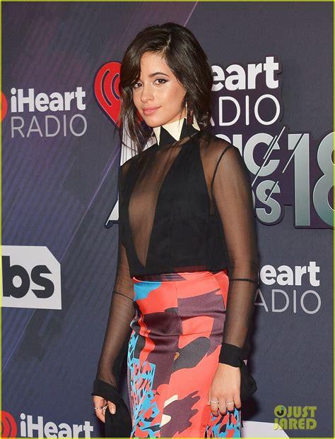 Camila Cabello Hits The Iheartradio Awards Carpet Ahead