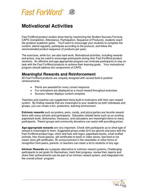 16 Best Images Of Fun Motivation Worksheets  Character Motivation Worksheet, Printable