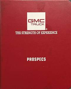 1995 Chevy Gmc Medium Truck Overhaul Manual Orig  Topkick