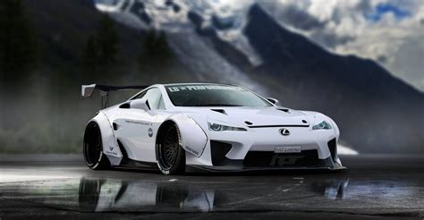 Lexus LFA Gets A Virtual Liberty Walk Makeover
