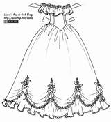 Gown Ball Paper Dolls Coloring Gowns Dresses Doll Liana Colouring Princess Sketch Lianaspaperdolls Printable Clothing Disney Yesterday Version Larger Zdroj sketch template