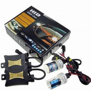 Xenon Hid Conversion Headlight Kit 55w Bulb H1 H3 H4 H7 H9
