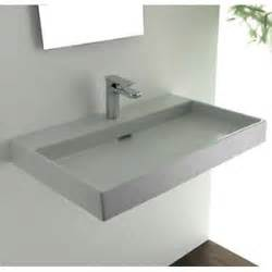 ada kitchen sinks ws bath collections 70 white wall mount or 1158