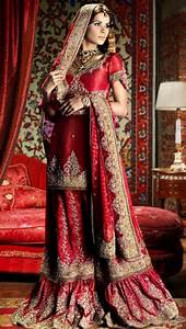 embroidered garara lehnga lehnga choli pinterest With indian wedding dresses for groom