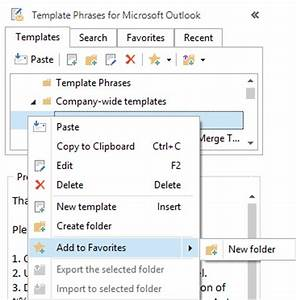 work with favorite templates in outlook 2010 2013 2007 With outlook 2007 template shortcut