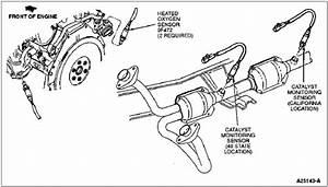 Ford F150 Bank 2 Sensor 1 Diagram