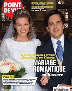 Point Mariage Orleans : le mariage de fran ois d 39 orl ans la une de point de vue noblesse royaut s ~ Medecine-chirurgie-esthetiques.com Avis de Voitures