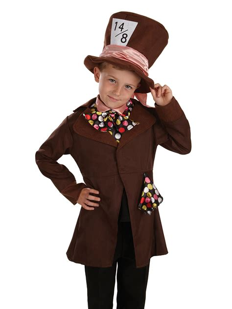child  mad hatter costume fs fancy dress ball