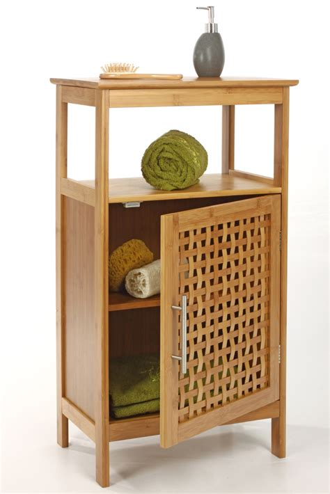 petit meuble cuisine conforama meuble sdb 1 porte bambou