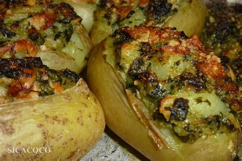 pommes de terre farcies aux saumon epinard les