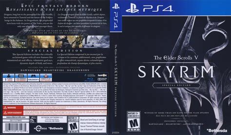skyrim ps4 edition special elder scrolls dvdcover whatsapp tweet email