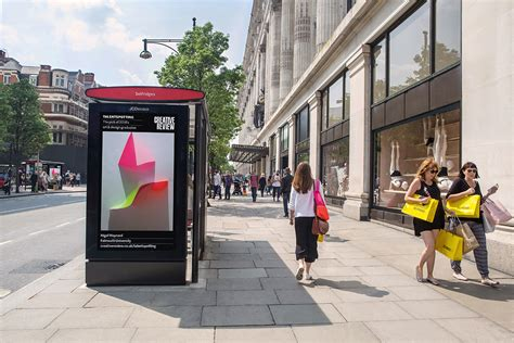 Cr And Jcdecaux Bring Graduate Artwork To Screens Across