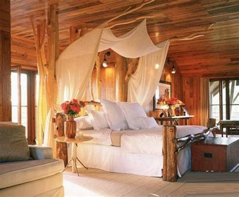 romantic bedroom  nature